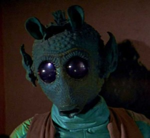 Greedo - He didn't shoot first