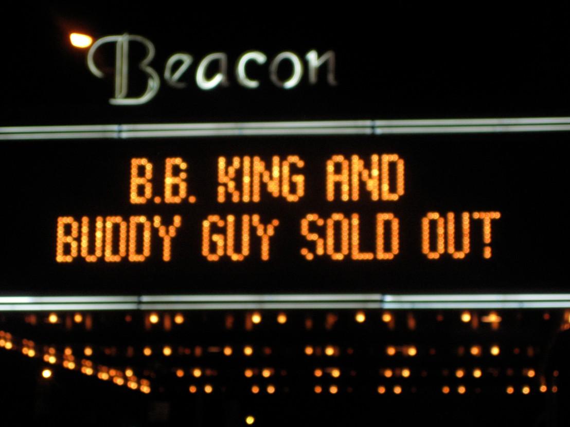 BB King Buddy Guy Beacon Theatre