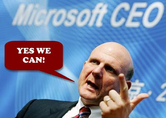Steve Ballmer - Yes We Can!