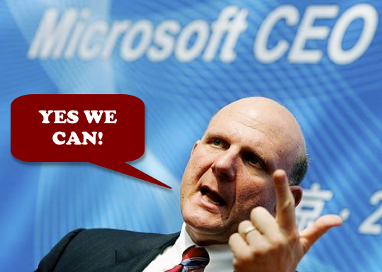Steve Ballmer - Yes We Can!