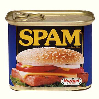 Spam in a can Spam