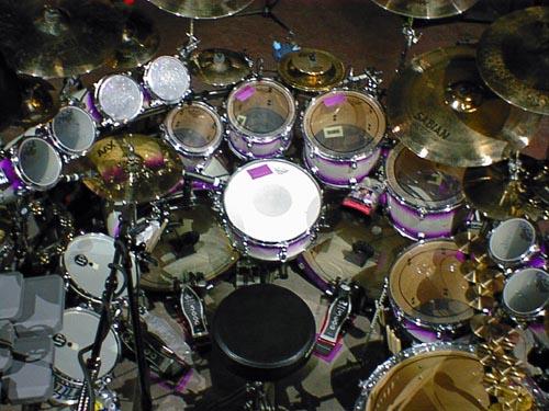 Mike Portnoy drum kit