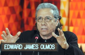 Edward James Olmos at the UN