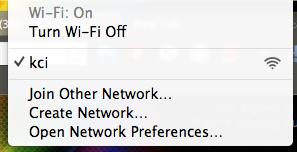 KCI wifi