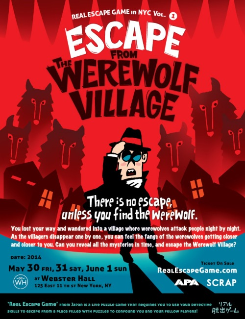 Escape From the Werewolf Village