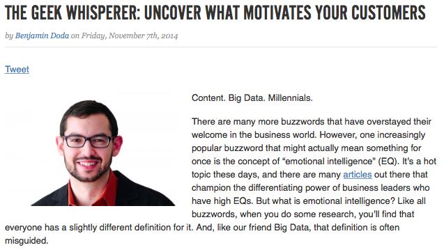 Springboard Geek Whisperer Interview