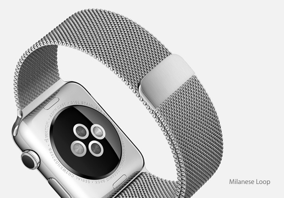 """That Milanese Loop will look so great on me... Give it to me or I'll cut you!"""