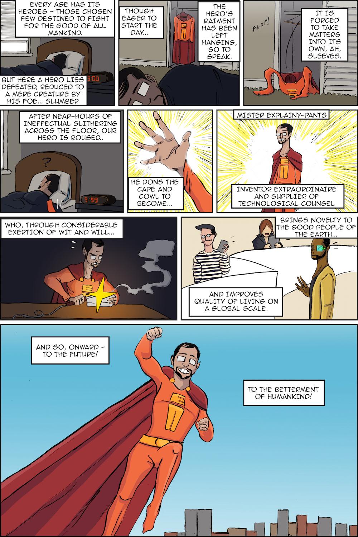 Mr. Explainy-Pants Comic
